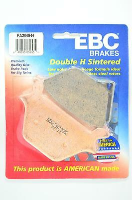 EBC Sintered Double-H Brake Pads - FA200HH for 87-99 H-D XLH883 Sportster Apps.