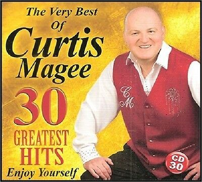 Curtis Magee 30 Greatest Hits Cd The Very Best Of 2015