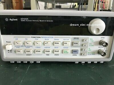 Agilent  33120A 15 MHz Function / Arbitrary Waveform Generator option 001