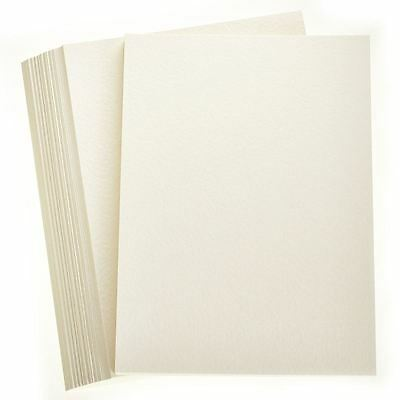 Ivory Hammered Card 100 Pack In A4 Sheets Wedding Stationery
