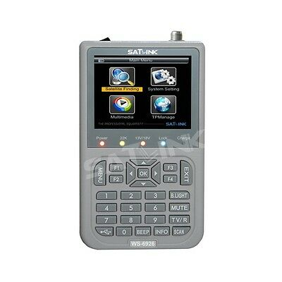 Pointeur satellite Satlink ws-6926 HD satfinder - pointeur satellite MESUREUR ré