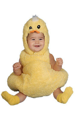 Deluxe Baby Toddler Duck Duckling Chick Costume Outfit Babies 0-6-12-24 Months