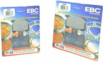 Standard Organic Brake Pads Front Set for 81-83 Yamaha XJ750R Seca Apps.