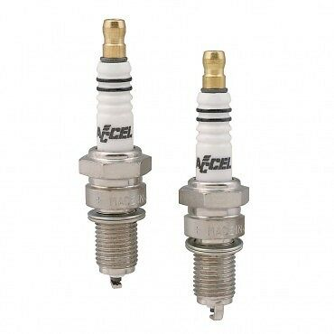 [2418] Accel U-Groove Spark Plugs for Harley Twin Cam & Sportster Models