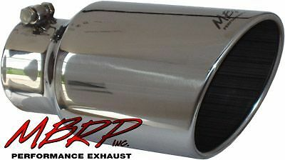 [T5073] Diesel Truck MBRP 4in to 6in Rolled End Angled Cut Exhaust Tip