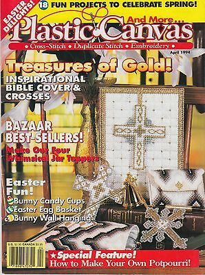 Plastic Canvas magazine April 1994 - 18 projects Easter and more