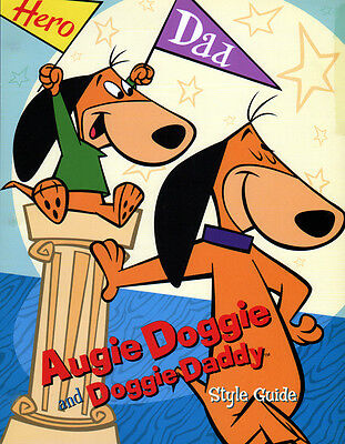 Hanna Barbera STYLE GUIDE PLATE - AUGGIE DOGGIE & DOGGIE DADDY