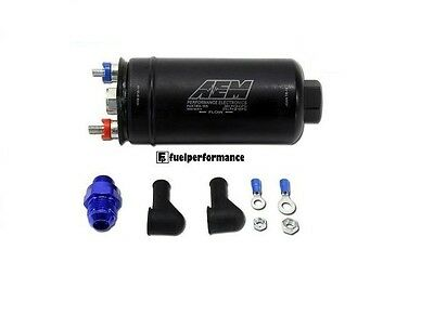 AEM 50-1005 INLINE EXTERNAL OR INTANK  Fuel Pump 380LPH    BOSCH 044 Replacement