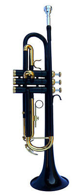 New Black Band Trumpet W/case-Approved+ Warranty