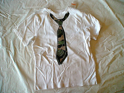 Nwt Gymboree Space Voyager White Green Camo Tie Top Shirt