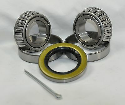 K1-100 2,000 lb.Trailer Bearing Kit L44643/10 L44643/10 Bearings 34823 Seal
