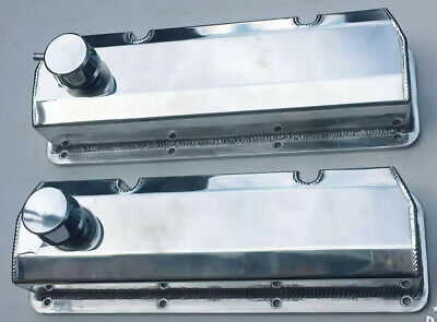 351Cleveland  Fabricated Tall Aluminum Valve Covers