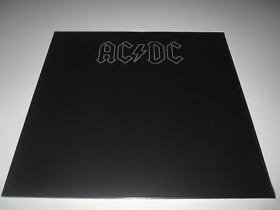 AC/DC - Back In Black LP 180g Vinyl NEU Schallplatte NEW mit Prägedruck-Cover