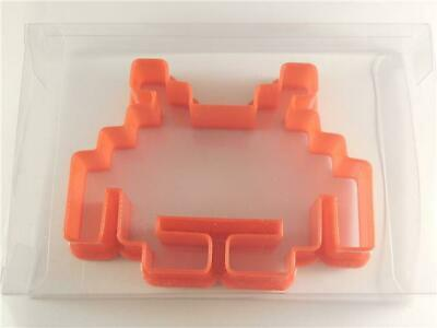 Space Invaders Retro Cookie Cutter, Biscuit, Pastry, Fondant Cutter Cake Cutter