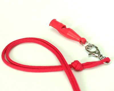 Acme Gundog/Obedience Training Whistle And Lanyard - 212  Hot Pink or Neon Green