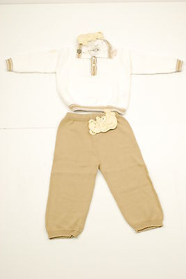 Cashmirino Cotton Polo Sweater Outfit - age 18 months BCF511