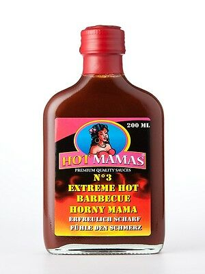 HotMamas BBQ No. 3 Sauce, Grillsauce, Grill Soße, Barbecuesauce