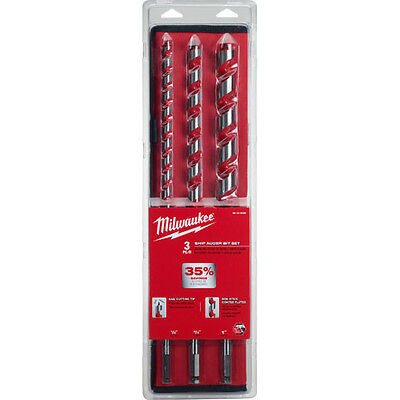 Milwaukee 48-13-3000 3 pc 18 in. Set Ship Auger Bits
