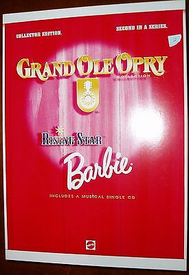 Rising Star Barbie Grand Ole' Opry 2nd in series #17864 box w/shelf wear [2]