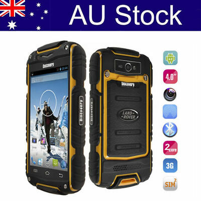 3G Discovery V8 Rugged Android Smartphone 4'' Dual Core Mobile Phone Outdoor AU
