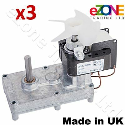 QTY x3 Made in UK Doner Kebab Motor For Archway Gas Grill Original Mellor