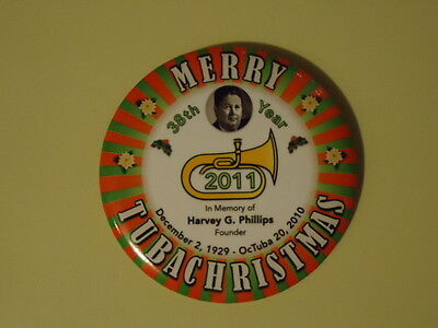 Merry TubaChristmas 2011 38th Year Button