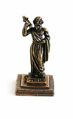 ANCIENT GREEK ZAMAC MINIATURE OF DIAS/ZEUS Bronze