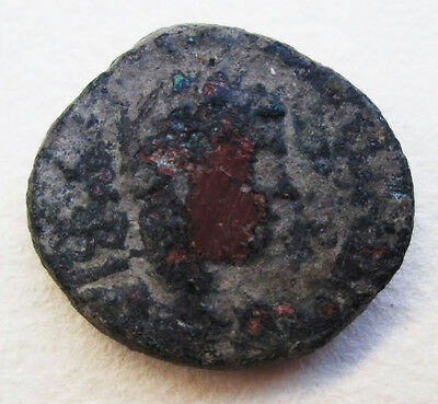 Roman Period Neapolis Gerizim Mount Bronze Coin Archaeology