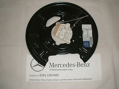 Genuine Mercedes-Benz 414 Vaneo LH REAR Brake Backing Plate A1684230120 NEW