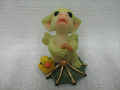 Whimsical World Of Pocket Dragons Rain Rain Go Away Real Musgrave NIB