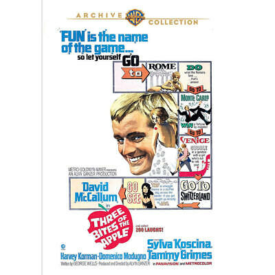 Three Bites of the Apple - 1967- DVD David Mccallum, Sylva Koscina, Tammy Grimes