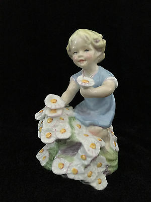 Royal Worcester MAY Child figurine #3455 by Freda Doughty H13cm.1950 England