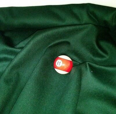 Eddie Charlton DIRECTIONAL Pool Snooker Billiards CLOTH 7ft x 3.6ft - SPRUCE