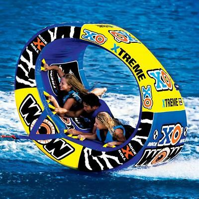 NEW World Of Watersports WOW 1-3 Person XO Extreme Towable Water Tubing Tube