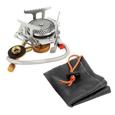 Cookout Portable Gas Stove Furnace Split Burner Cookware Outdoor Camping HS