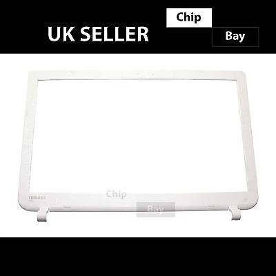 "Toshiba Satellite L50-B-1N8 Screen 15.6"" Bezel Surround Cover White A000291100"