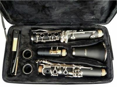 NEW  BAND CLARINET Black Finish.W/CASE.APPROVED+WARRANTY