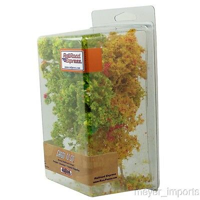 "Fall Color Trees - 5"" Tall - German Imports"