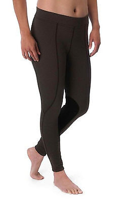 Kerrits Fleece Flow Rise Performance Tight-Otter Herringbone-S