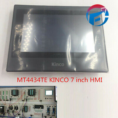 "New In Box 7"" HMI Touch Screen Panel MT4434TE USB Host Ethernet Cable Software"