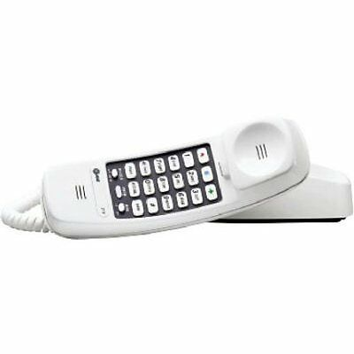 ATAT&T 210M Trimline Corded Phone, 1 Handset, White  by AT&T FREE SHIPPING NEW