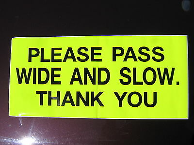 "Horse Driving Carriage Hi Viz Road Safety Sticker approx 18"" x 8"" 02-03"