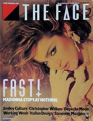 Madonna Exclusive * The Face 1St Cover * Feb '85 * Htf! * Christopher Walken