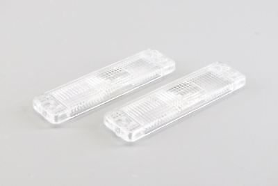 VW Golf MK1 MK2 Jetta MK2 Clear Front Indicator Repeater Lenses Set Pair