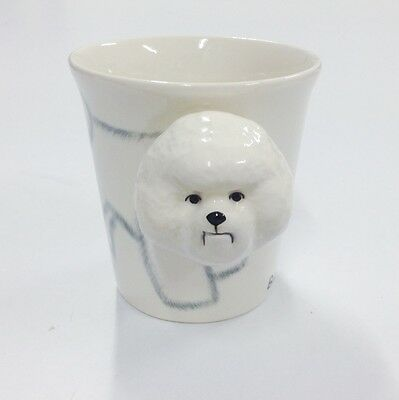 Bichon Frise Mug Coffee Cup Mug Cuter than Blue Witch 3D dog mugs