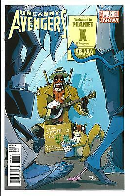 Uncanny Avengers # 18.Now (Gullory Deadpool Variant, May 2014), Nm/Mt New