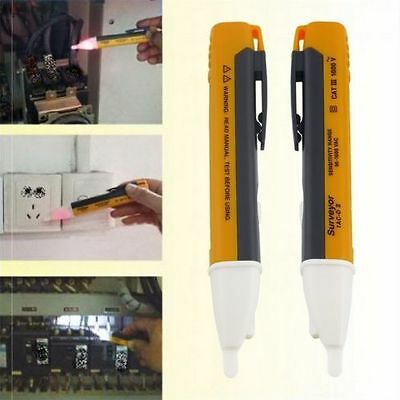 LED Light AC Electric Voltage Tester Volt Pen Detector Alert Sensor 90~1000V B5