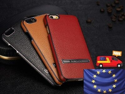 Luxury Ultra-thin PU Leather Hard Back Case Cover Apple iPhone 6/6s & 6/6s Plus