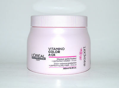 Loreal Vitamino Color A.OX Maske 500ml Haarkur coloriertes Haar