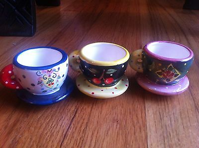 MARY ENGELBREIT  MINIATURE TEA Cups